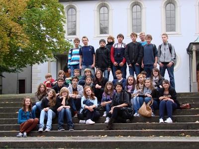 Uczniowie z Szydłowca na obozie edukacyjnym w Niemczech
