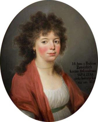 Anna Jadwiga z Zamoyskich Sapieżyna