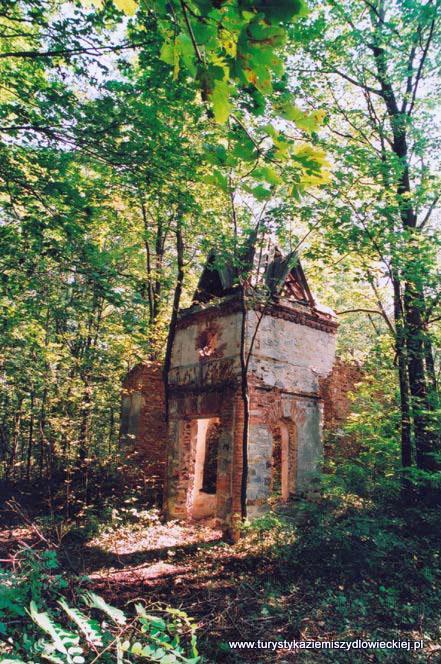 Pomimo figurowania w rejestrze zabytków województwa mazowieckiego, w terenie pozostało niewiele - ukryte wśród drzew ruiny dworskiej rezydencji, zdziczały park oraz fragmenty otaczającego go kamiennego muru, zarastający staw i szczątki dawnego młyna.