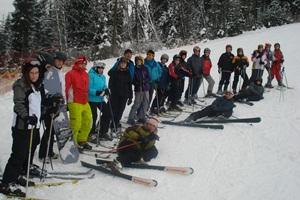 Uczniowie z Szydłowca na obozie zimowym w Tatrach