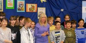 Sędzia Anna Maria Wesołowska odwiedziła szydłowiecką szkołę