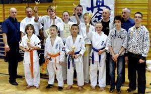 Kolejne sukcesy szydłowieckich karateków