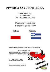 Euro 2012 w Piwnicy Szydłowieckiej!