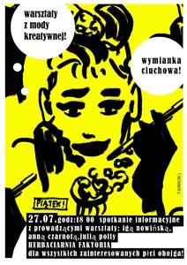 Warsztaty z kreatywnej mody w Szydłowcu!