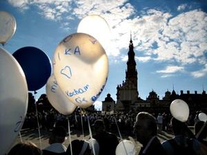 Niebieska grupa z Szydłowca dotarła na Jasną Górę po raz dziesiąty!!!