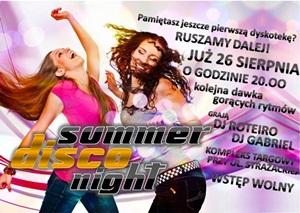 Summer Disco Night na Targowisku!