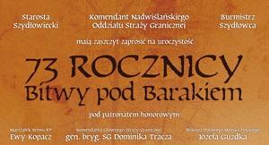 Obchody 73 rocznicy Bitwy pod Barakiem!