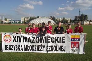 Srebrna drużyna z Szydłowca!