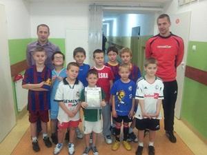 Pierwszy turniej już za młodymi zawodnikami z szydłowieckiej Akademii Piłkarskiej