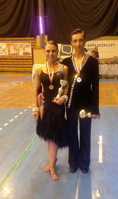 Para taneczna z Szydłowca wystąpi na Mistrzostwach Polski