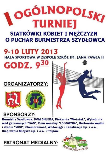 W Szydłowcu odbędzie się ogólnopolski turniej siatkówki!