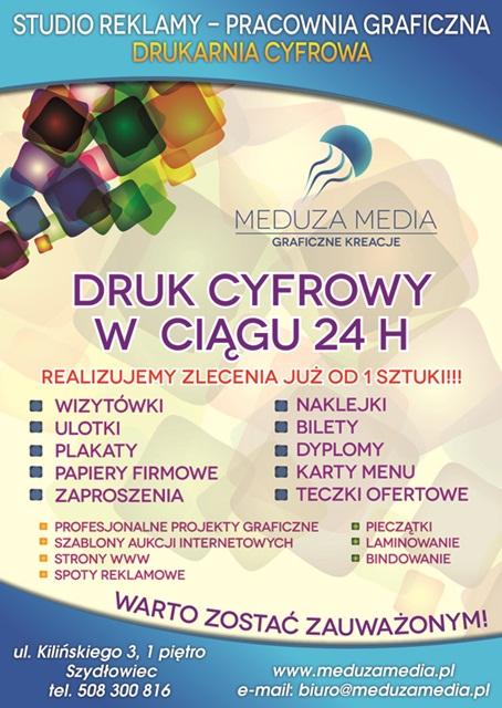 """""""Reklama potrzebna od zaraz"""" – Meduza Media Studio Reklamy Zaprasza!"""