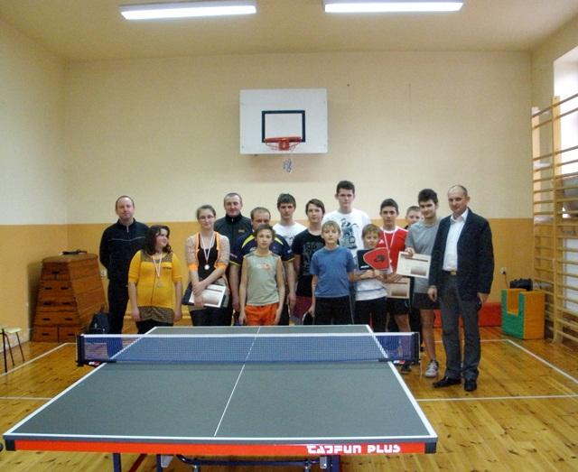 IX Mistrzostwa Sadku w tenisie stołowym