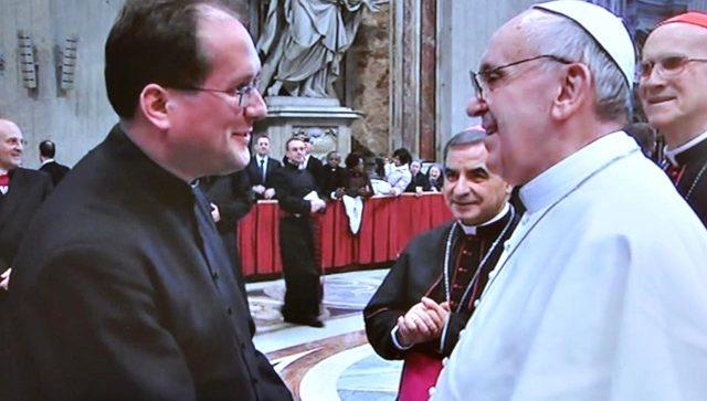 Nasz rodak spotkał się z papieżem Franciszkiem!