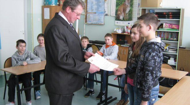 Lekcja demokracji, samorządności i odpowiedzialności z radnym Tadeuszem Rutem