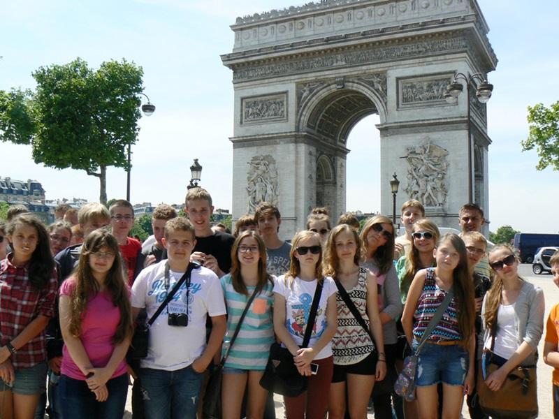 Wycieczka szkolna do Paryża