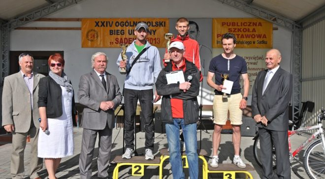 Ukraińcy najlepsi podczas XXIV biegu w Sadku!