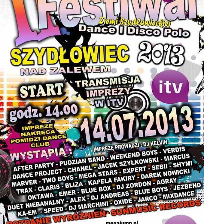 II Festiwal Dance i Disco Polo Ziemi Szydłowieckiej