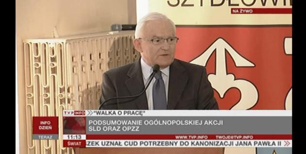 Leszek Miller w Szydłowcu walczył o pracę dla Polaków