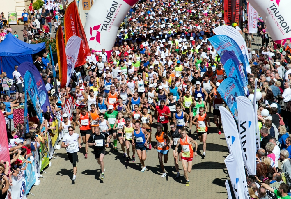 Biegacze z Szydłowca wzięli udział w Festiwalu Biegów w Krynicy