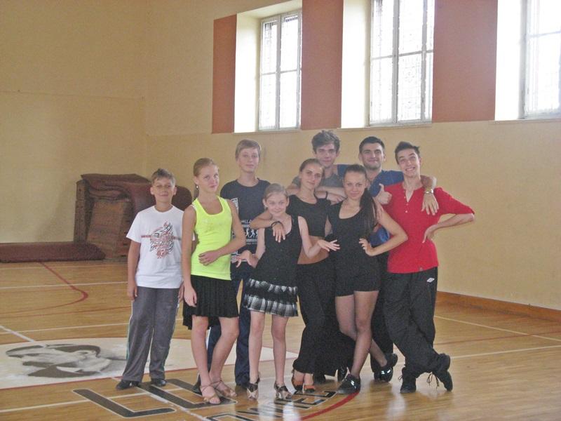 Tancerze brali udział w szkoleniach