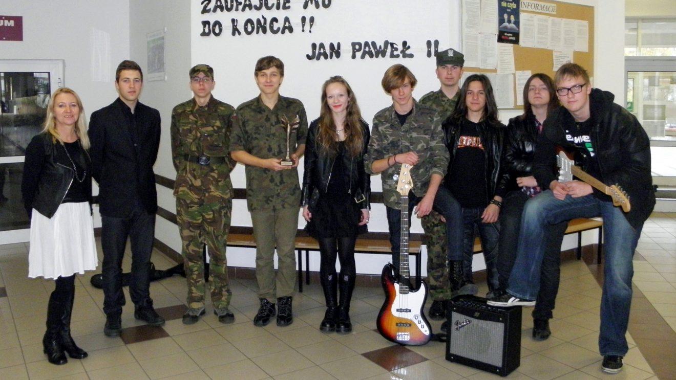 Sukcesy wokalne uczniów ZS im. Jana Pawła II