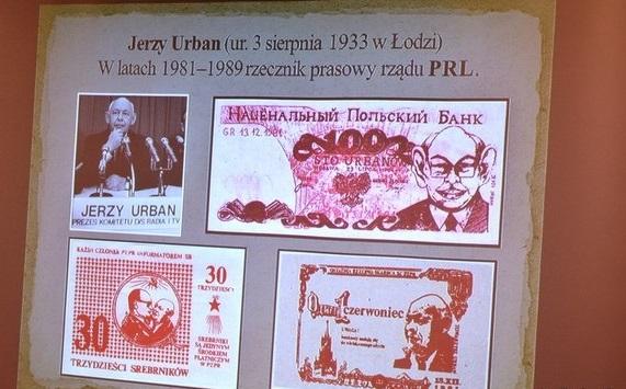 Oglądali banknoty solidarnościowe