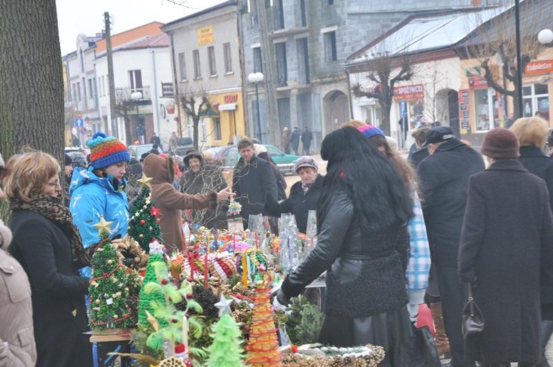 W Szydłowcu odbył się świąteczny jarmark!