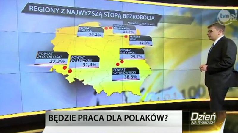 Nasz powiat wciąż na czele… o Szydłowcu w TVN24 Biznes i Świat