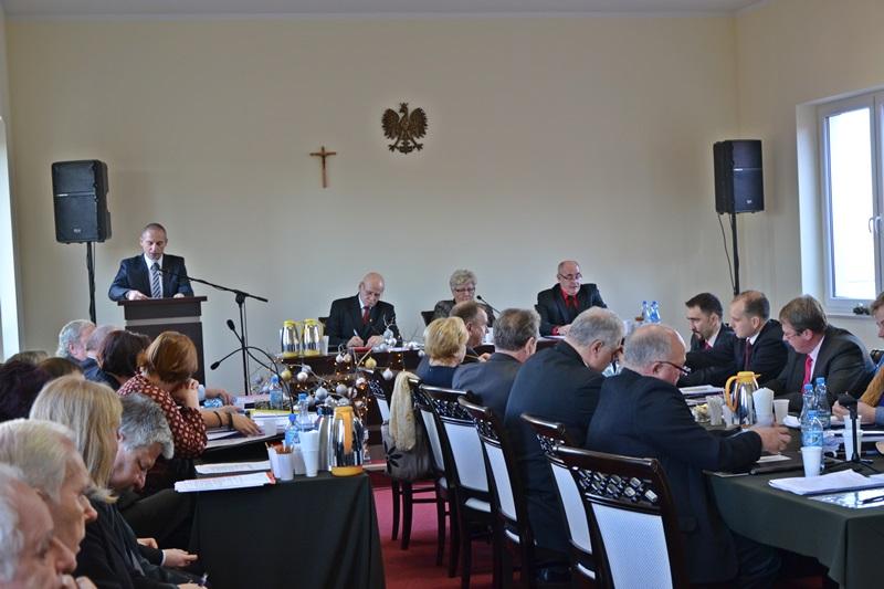 Artur Koniarczyk – oficjalne wystąpienie w sprawie budżetu gminy