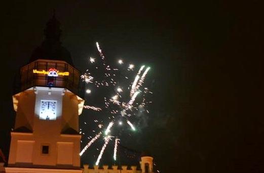 W Szydłowcu powitano Nowy Rok