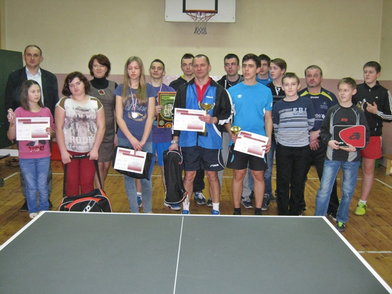 X Mistrzostwa Sadku w tenisie stołowym