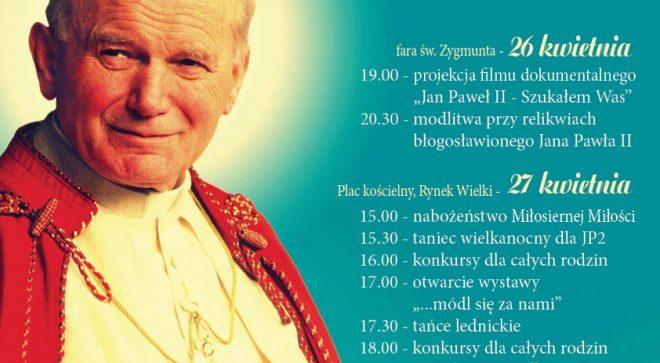 Kanonizacja Jana Pawła II w Szydłowcu