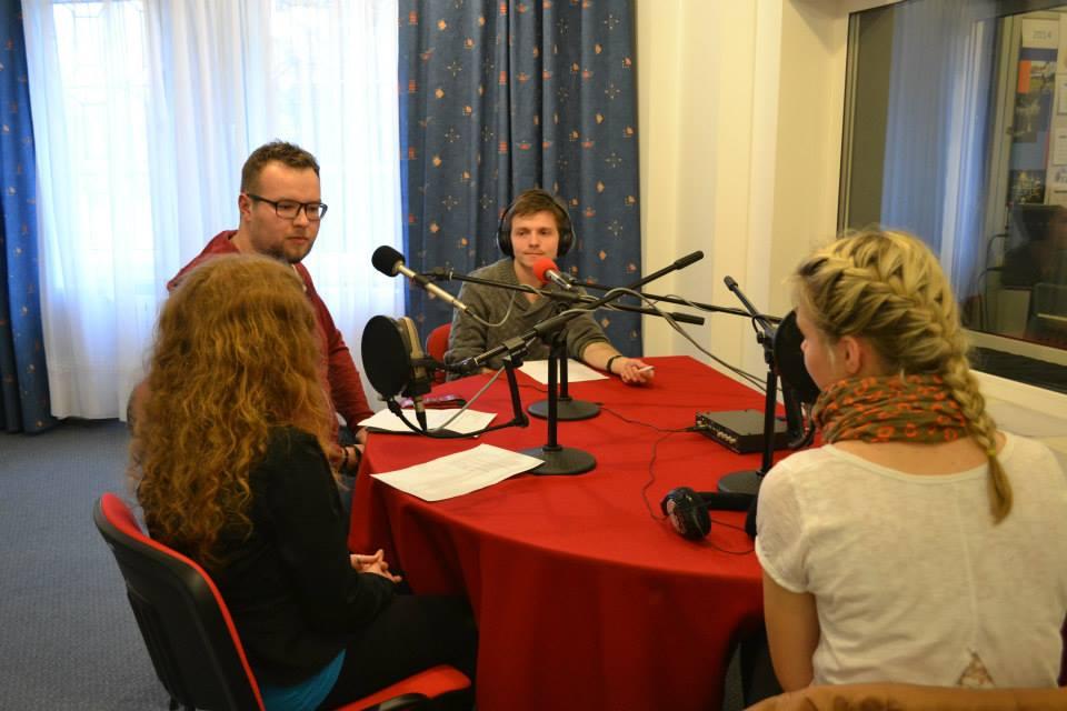 Zespół Strefy JP2 w Radio Plus