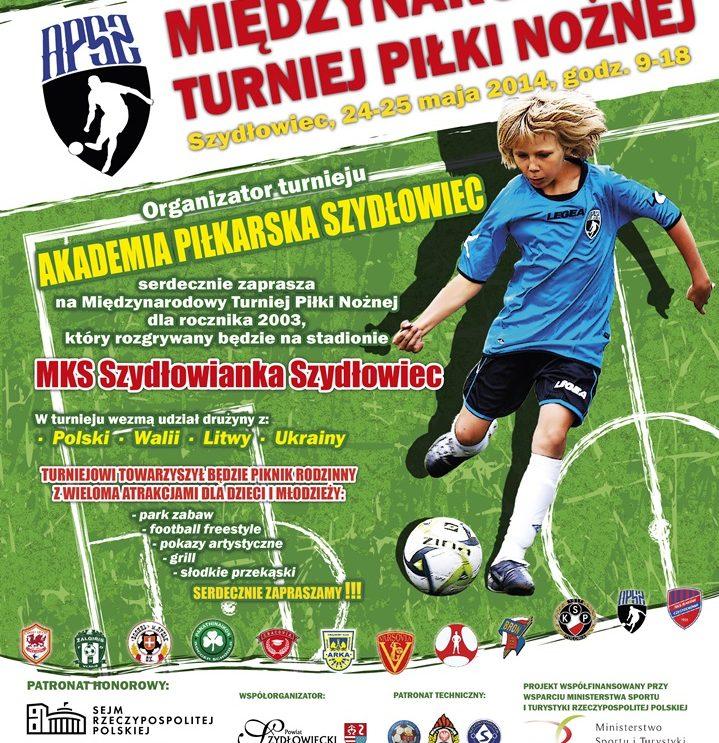 Międzynarodowy Turniej Piłki Nożnej rocznika 2003 już niebawem w Szydłowcu!