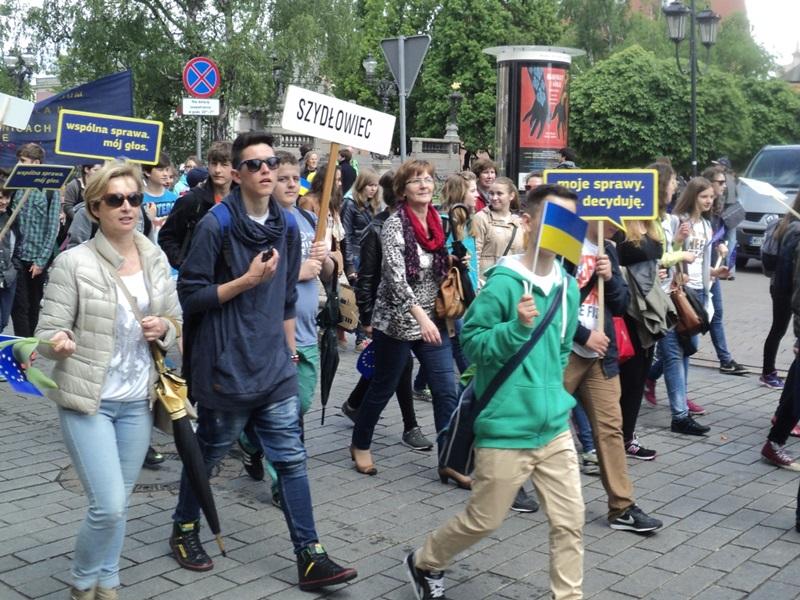 Uczestniczyli w Paradzie Schumana