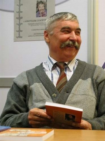 Zapraszamy na spotkanie z Anatolem Diaczyńskim polskim pisarzem