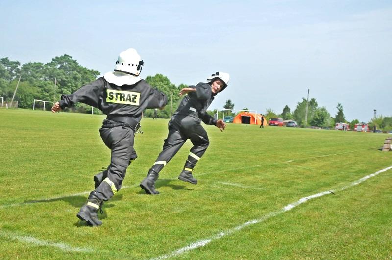 OSP Majdów wygrywa gminne zawody sportowo – pożarnicze