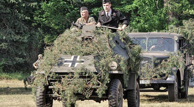 """Szydłowianin wziął udział w rekonstrukcji epizodu Akcji """"Burza"""""""