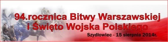 94. rocznica Bitwy Warszawskiej i Święto Wojska Polskiego w Szydłowcu