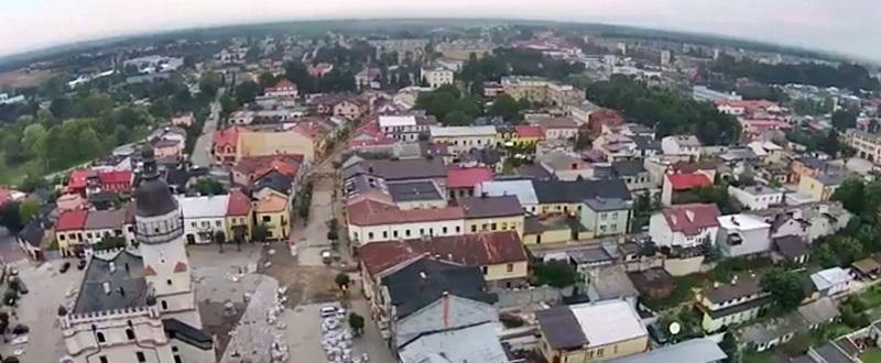 Piękne mamy miasto…Szydłowiec z lotu ptaka (video)