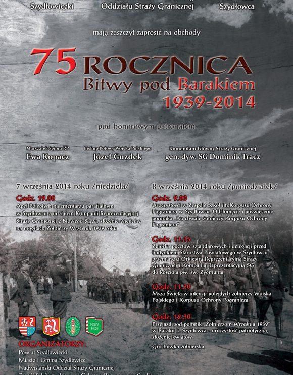75 rocznica Bitwy pod Barakiem