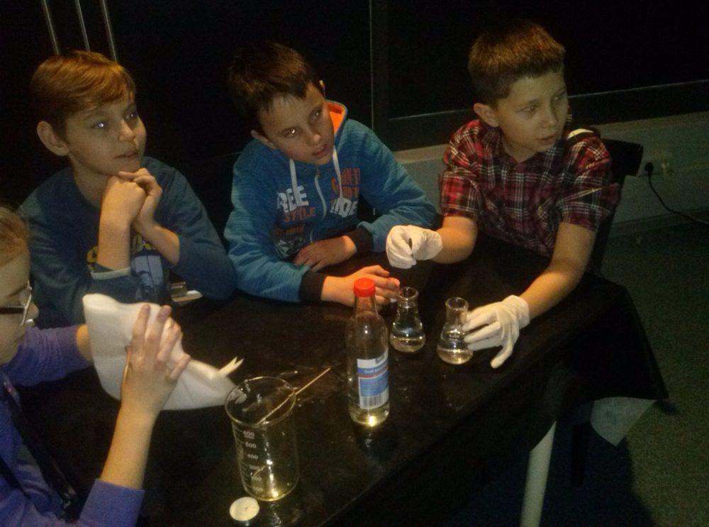 Uczniowie z Sadku na wycieczce w Łodzi