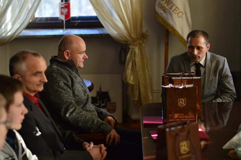 Burmistrz Szydłowca wyróżnił karateków SKKK MUSHIN