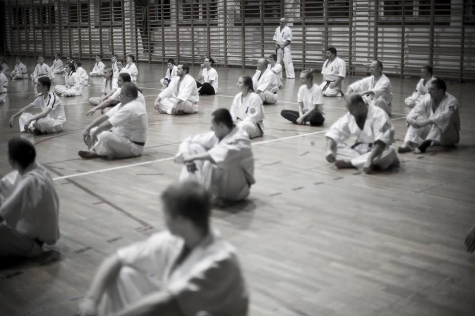 MUSHIN uczyło się od mistrza!/relacja z szydłowieckiego seminarum karate/