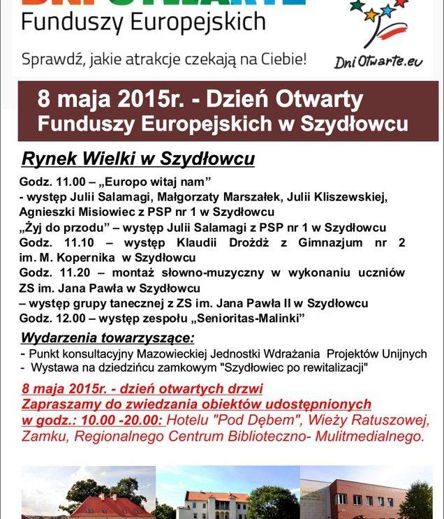 Dzień Otwarty Funduszy Europejskich