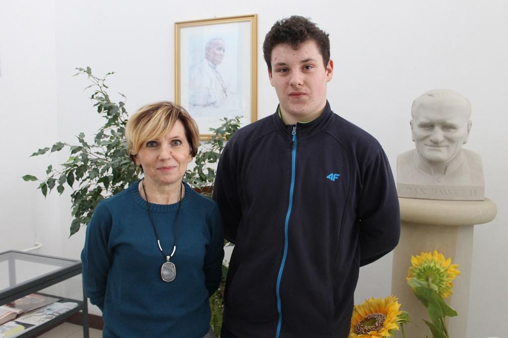 Dominik Ołub w wojewódzkim finale konkursu historycznego