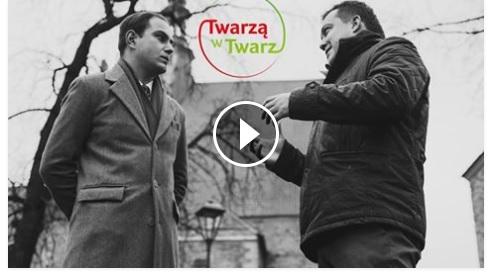 """""""Twarzą w Twarz"""" z Tomaszem Jakubowskim"""