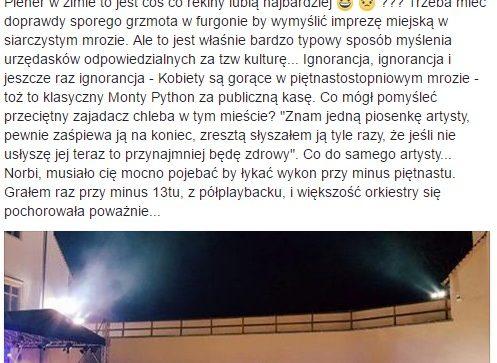 """Historia """"słynnego"""" zdjęcia z koncertu Norbiego w Szydłowcu"""