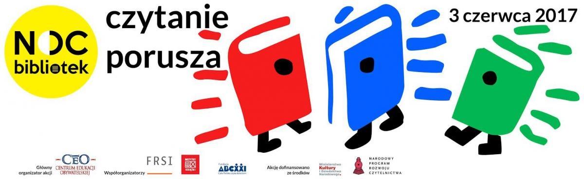 """Zapraszamy na """"Noc bibliotek"""" w Szydłowcu"""